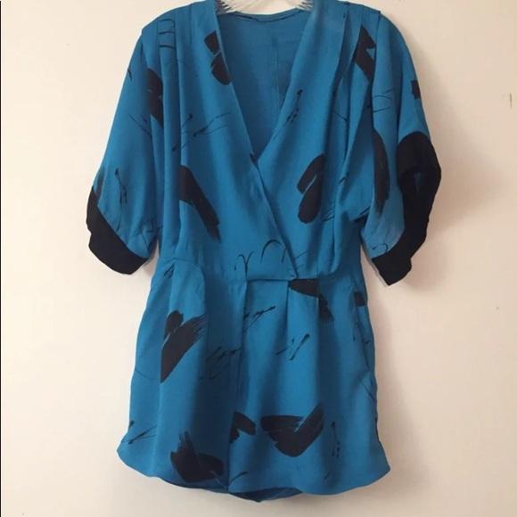 Pants - Vintage Kimono Romper